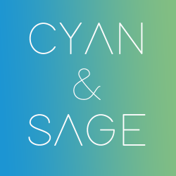 Cyan and Sage